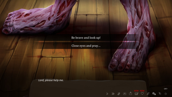 Скриншот №3 к The Letter - Horror Visual Novel