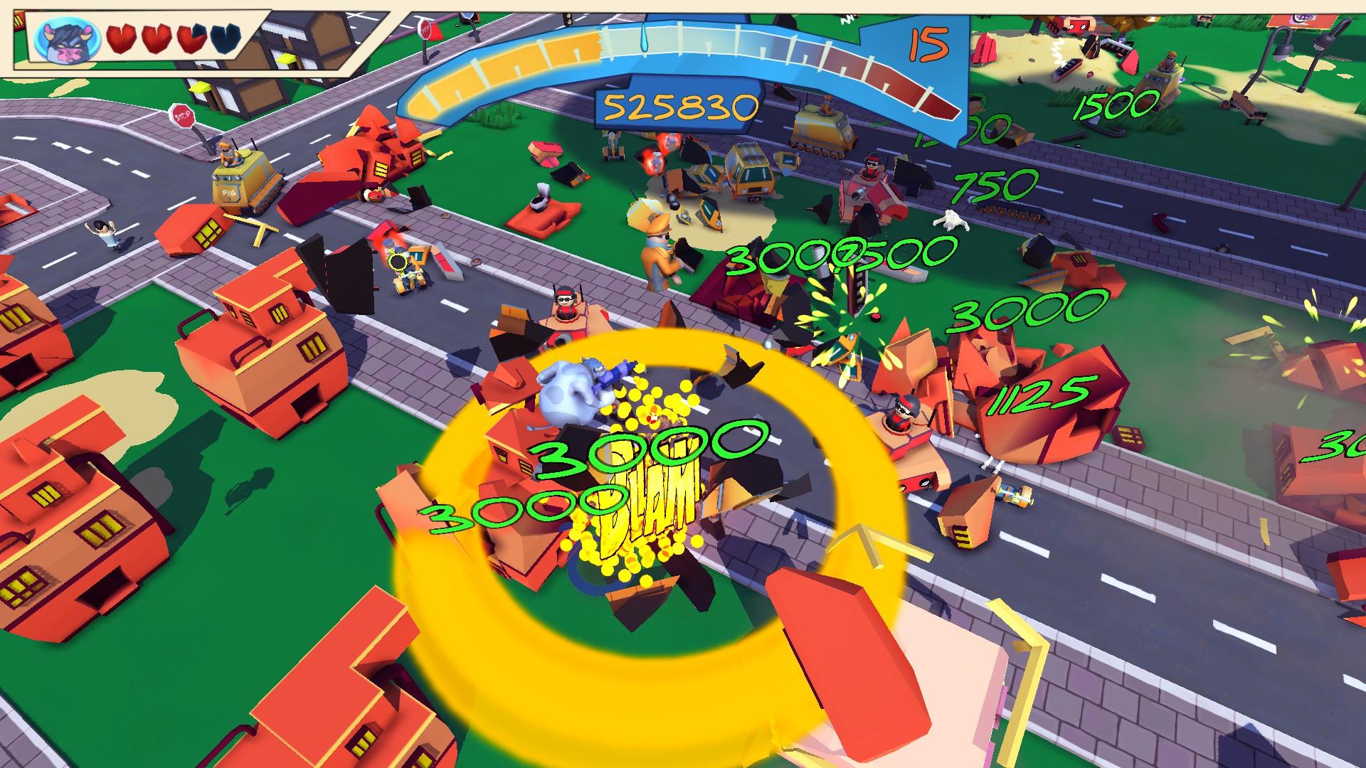 Blamdown: Udder Fury Screenshot 3