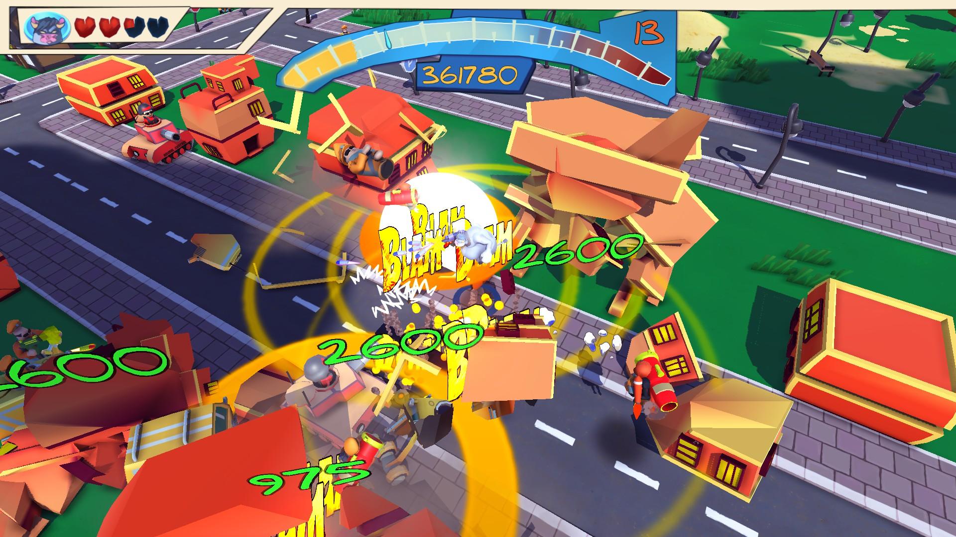 Blamdown: Udder Fury Screenshot 1