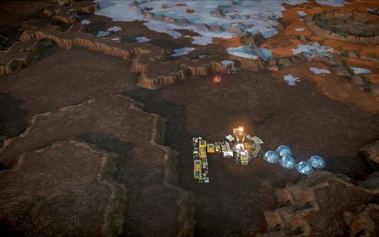 скриншот Offworld Trading Company - Real Mars Map Pack DLC 1