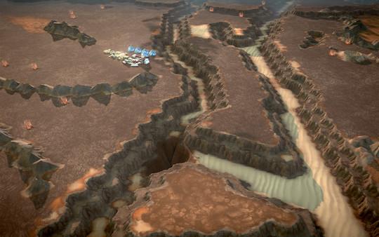 скриншот Offworld Trading Company - Real Mars Map Pack DLC 4