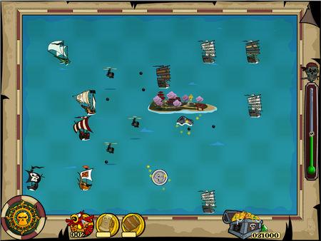 скриншот Zombie Pirates 3