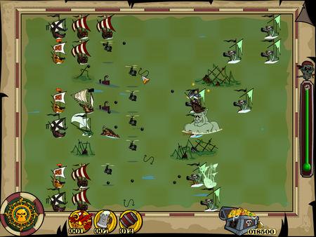 скриншот Zombie Pirates 4