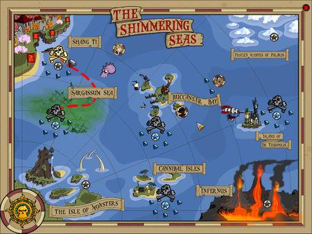 скриншот Zombie Pirates 1