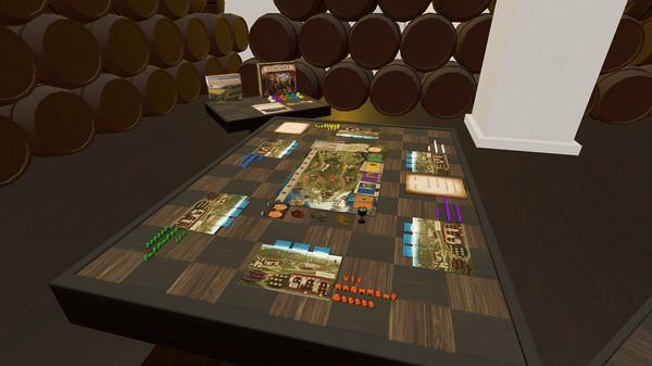Скриншот №3 к Tabletop Simulator - Viticulture
