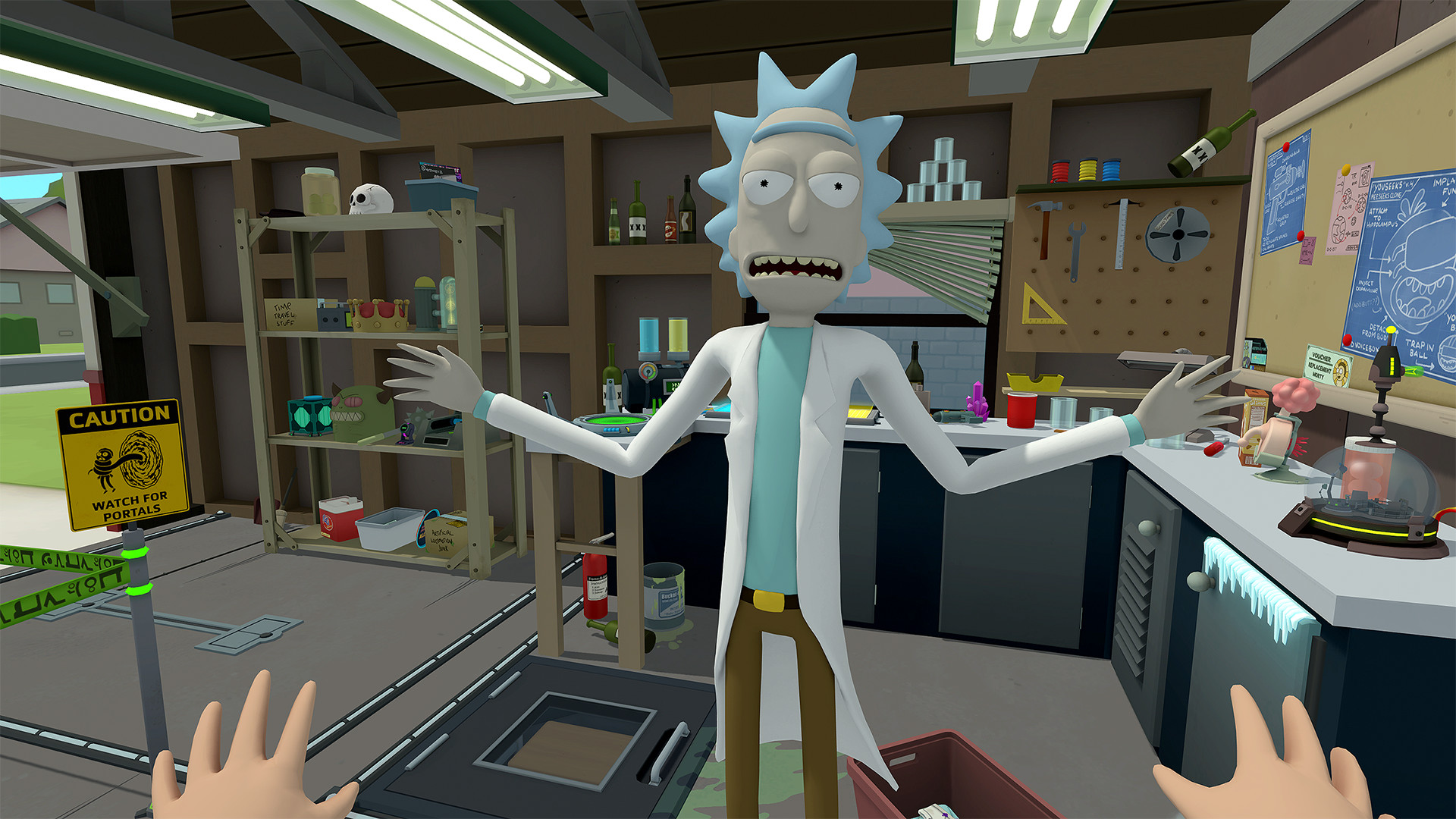 rick and morty spiel