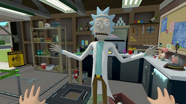 Скриншот №1 к Rick and Morty Virtual Rick-ality