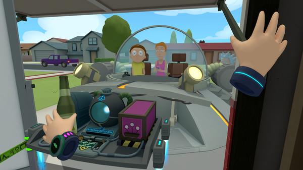 Скриншот №5 к Rick and Morty Virtual Rick-ality