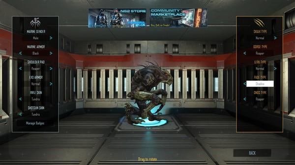 Скриншот №5 к Natural Selection 2 - Shadow Fade