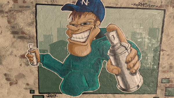 Скриншот №1 к Kingspray Graffiti VR