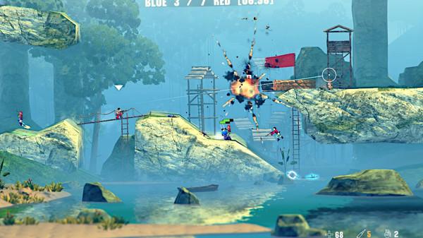 Скриншот №1 к Soldat 2