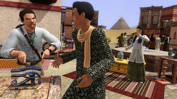 Скриншот №7 к The Sims™ 3 World Adventures
