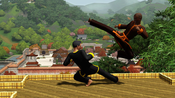 Скриншот №10 к The Sims™ 3 World Adventures