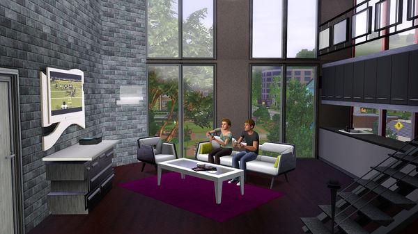 Скриншот №1 к The Sims™ 3 High-End Loft Stuff