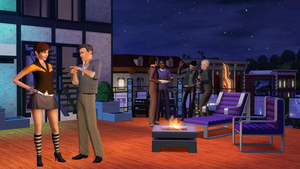 Скриншот №5 к The Sims™ 3 High-End Loft Stuff