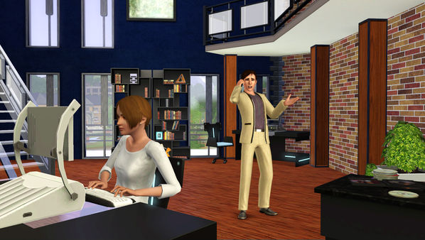 Скриншот №3 к The Sims™ 3 High-End Loft Stuff