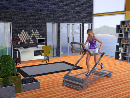 Скриншот №2 к The Sims™ 3 High-End Loft Stuff