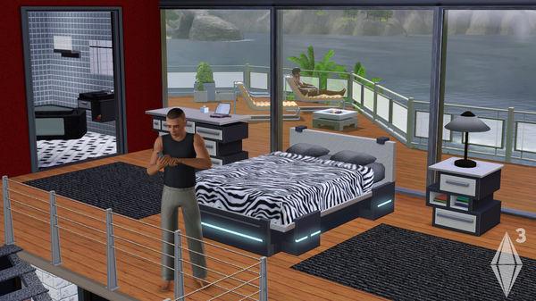 Скриншот №4 к The Sims™ 3 High-End Loft Stuff