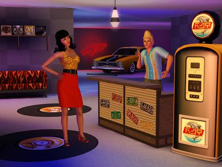 Скриншот №4 к The Sims™ 3 Fast Lane Stuff