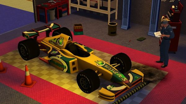 Скриншот №8 к The Sims™ 3 Fast Lane Stuff
