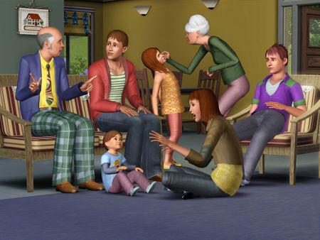 Скриншот №1 к The Sims™ 3 Generations