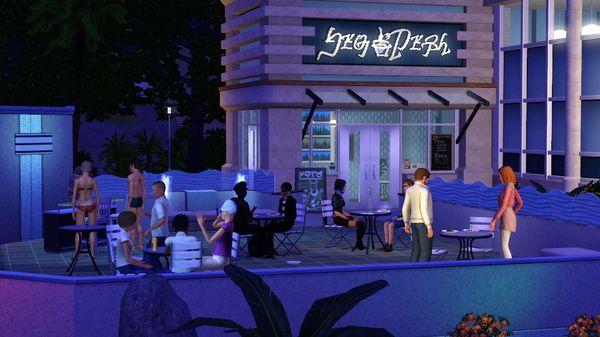 Скриншот №1 к The Sims™ 3 Town Life Stuff
