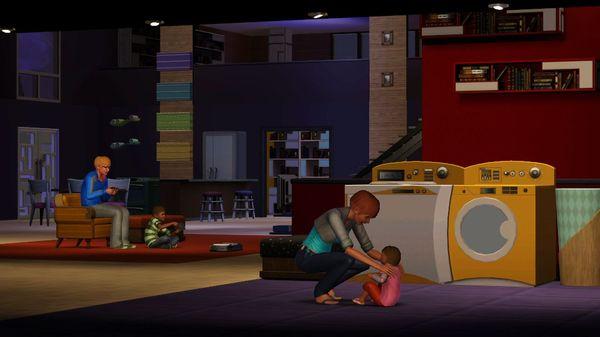 Скриншот №2 к The Sims™ 3 Town Life Stuff