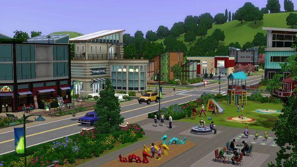 Скриншот №7 к The Sims™ 3 Town Life Stuff