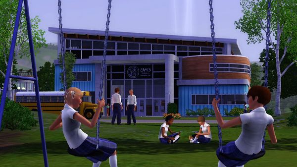 Скриншот №6 к The Sims™ 3 Town Life Stuff