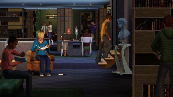 Скриншот №4 к The Sims™ 3 Town Life Stuff
