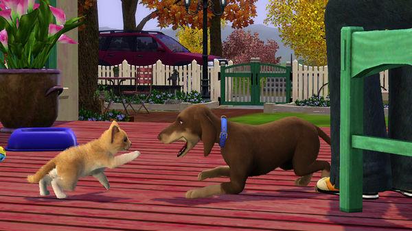 Скриншот №7 к The Sims™ 3 Pets