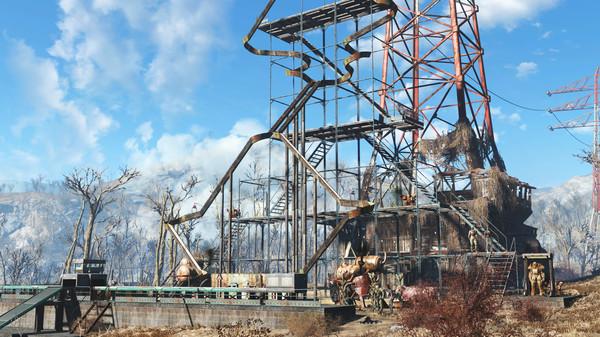 Скриншот №3 к Fallout 4 - Contraptions Workshop