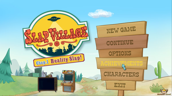Скриншот №12 к Slap Village Reality Slap