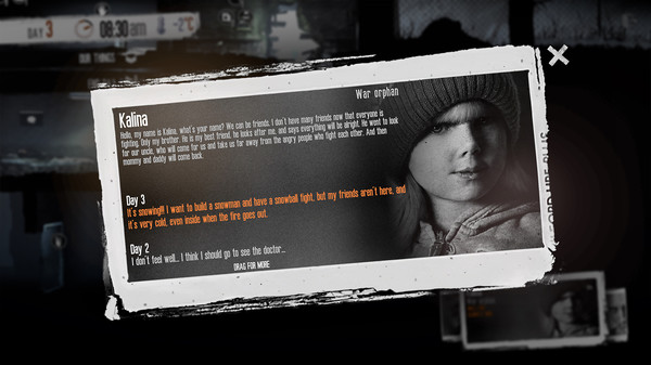 Скриншот №4 к This War of Mine The Little Ones