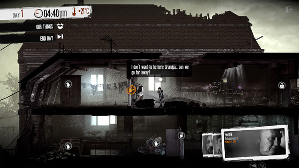 Скриншот №5 к This War of Mine The Little Ones