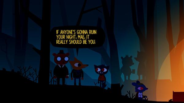 Скриншот №2 к Night in the Woods