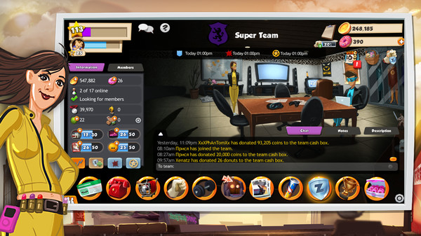 Скриншот №3 к Hero Zero