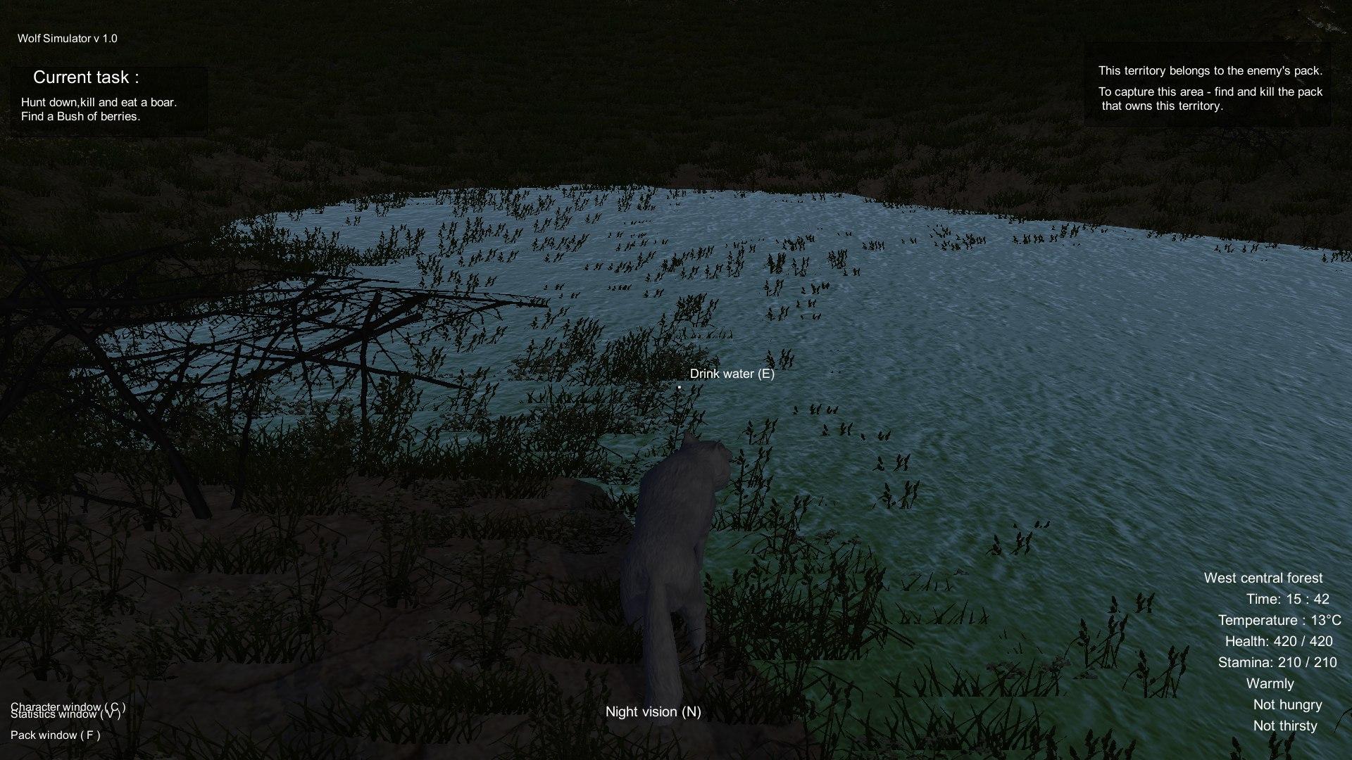 Wolf Simulator Screenshot 2