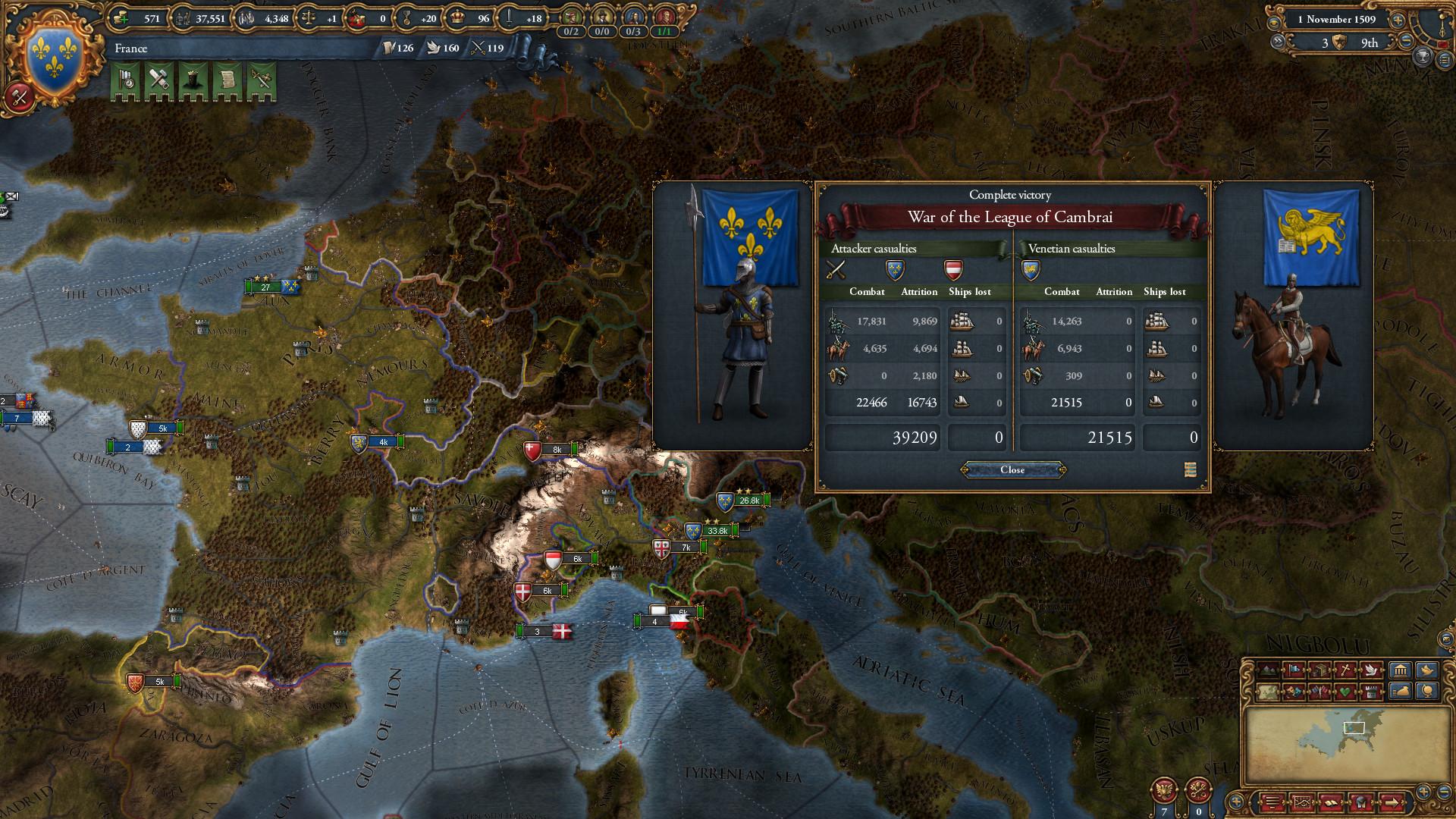Europa Universalis IV: Rights of Man Screenshot 3