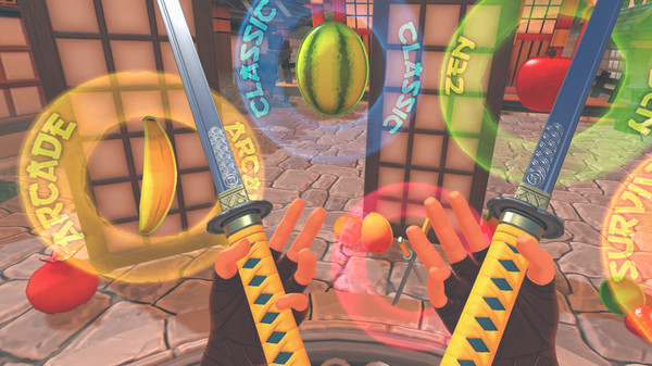 Скриншот №1 к Fruit Ninja VR