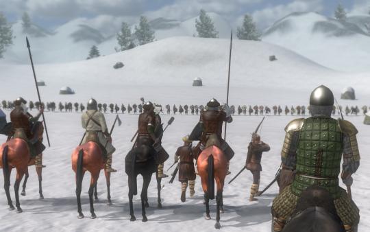Screenshot of Mount & Blade: Warband