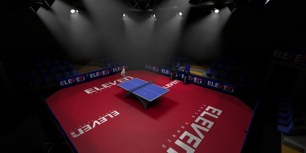 Screenshot of Eleven: Table Tennis VR