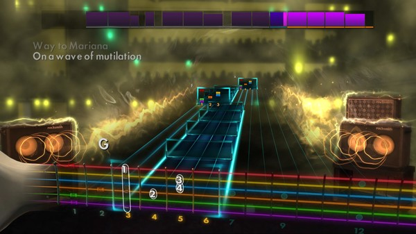 Скриншот №1 к Rocksmith® 2014 – Pixies Song Pack
