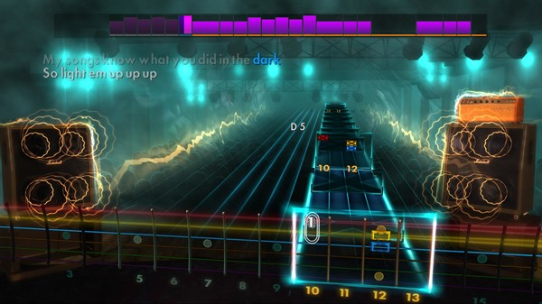 "Скриншот №1 к Rocksmith® 2014 – Fall Out Boy  - ""My Song Know What You Did In The Dark Light Em Up"""