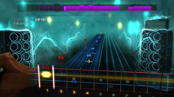 "Скриншот №3 к Rocksmith® 2014 – Fall Out Boy  - ""My Song Know What You Did In The Dark Light Em Up"""