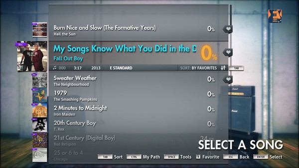 "Скриншот №2 к Rocksmith® 2014 – Fall Out Boy  - ""My Song Know What You Did In The Dark Light Em Up"""