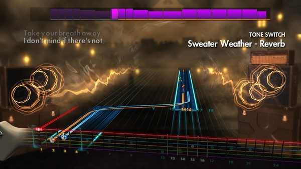 "Скриншот №2 к Rocksmith® 2014 – The Neighbourhood  - ""Sweater Weather"""