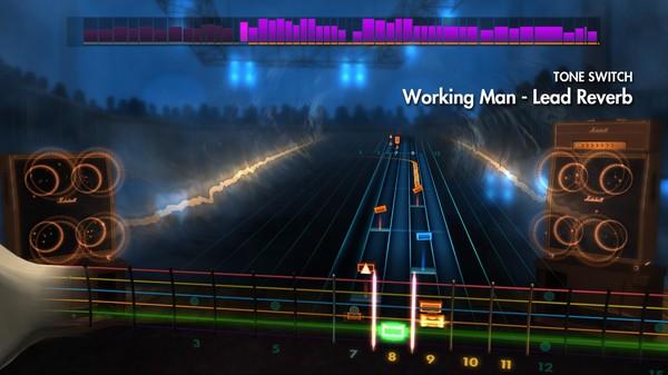 "Скриншот №1 к Rocksmith® 2014 – Rush - ""Working Man"""
