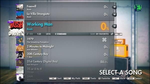 "Скриншот №3 к Rocksmith® 2014 – Rush - ""Working Man"""