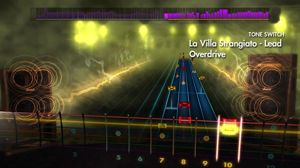 """Скриншот №4 к Rocksmith® 2014 – Rush - """"La Villa Strangiato"""""""
